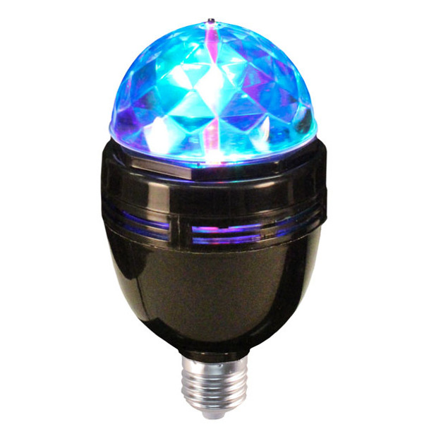 120v Disco Motion Multi color Rotating bulb