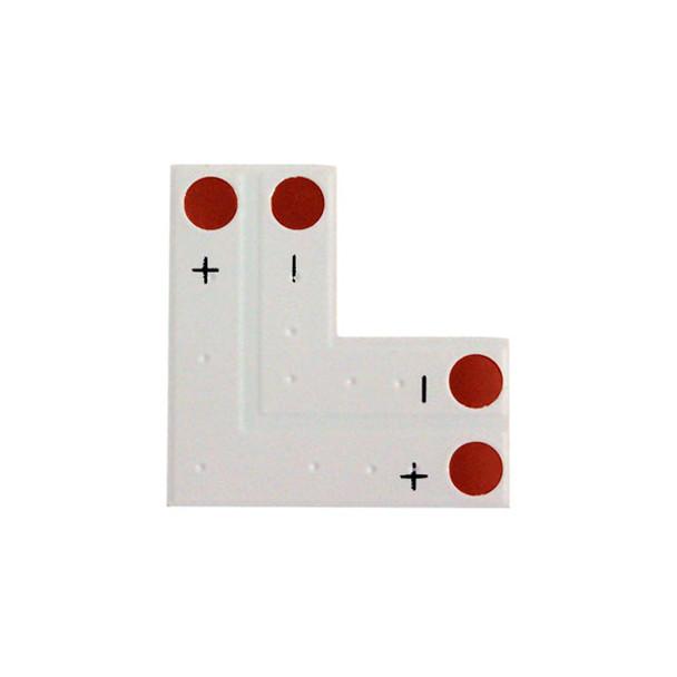 """L"" Corner Connector for Flexible SMD Strip Lighting"