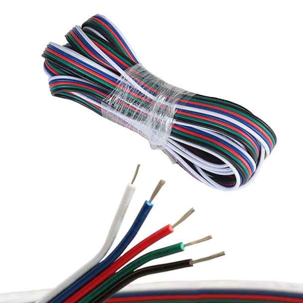 RGBW Bulk Wire - 5m Roll
