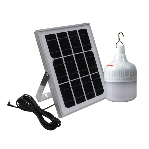 Rechargeable Solar Hanging Camp Light with Solar Panel