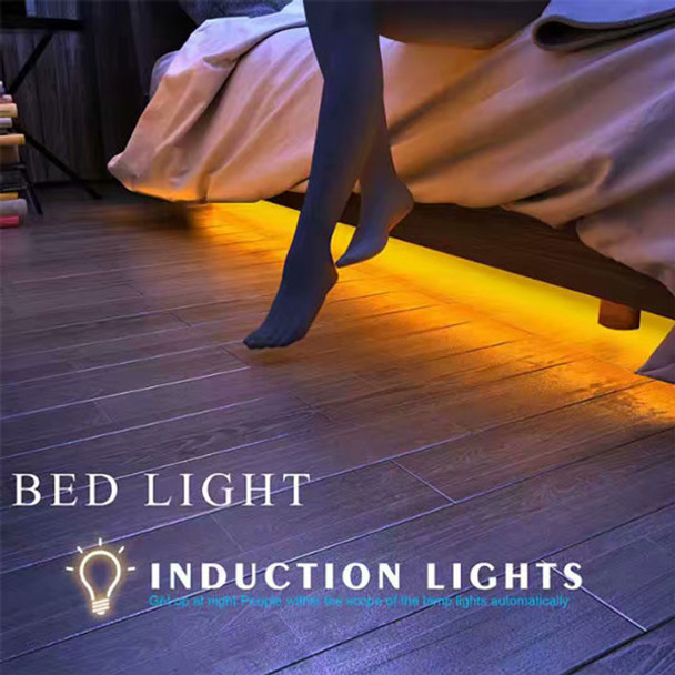 Motion Activated Under Bed Night  Light - In use