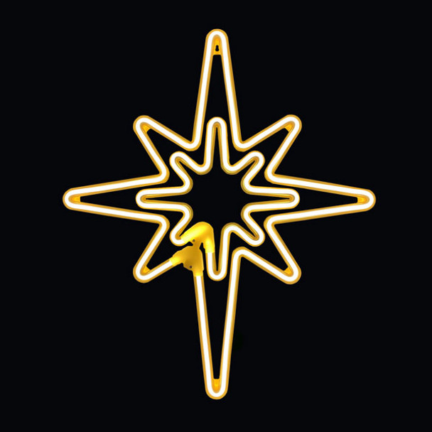 LED Neon hanging Star
