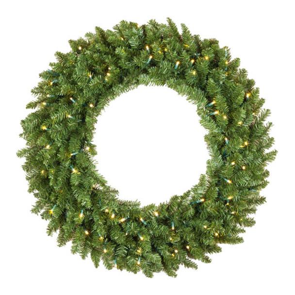 """30"""" Wreath with LED Bulbs"""