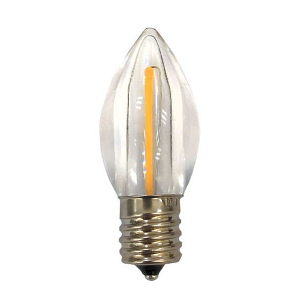 Single Filament LED C9 RetroFit bulb