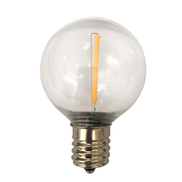 E17 Single LED Filament RetroFit Bulb