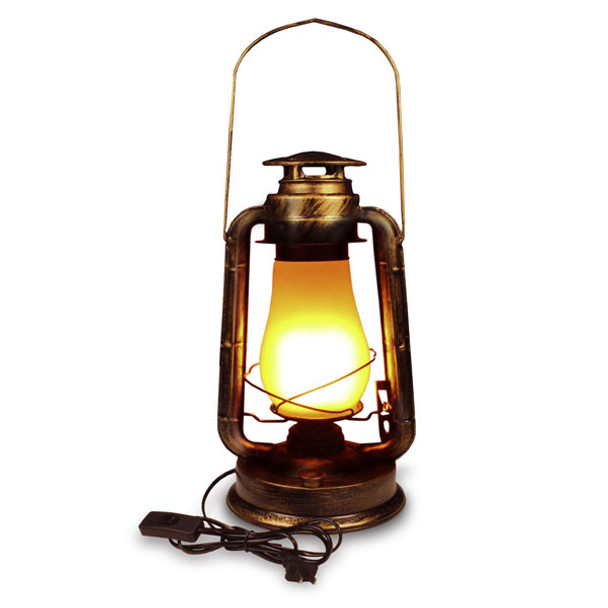 LED Lantern with 3 Function Flame Effect