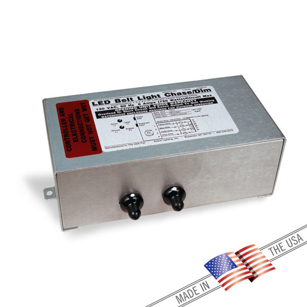 4 Circuit Solid State Chasing/Dimming Controller (204CH/4BLCD)