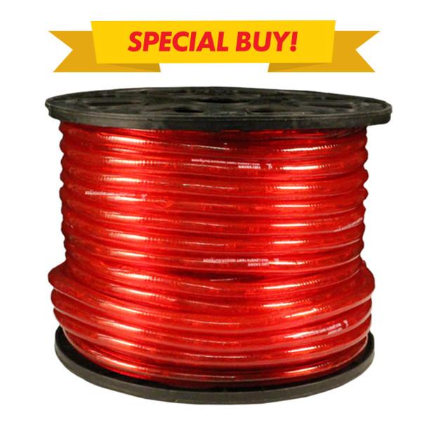 RED LED Rope Light - 150ft roll