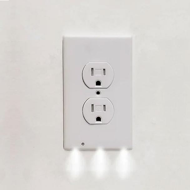 LED Wall Socket Cover Plate Night Light