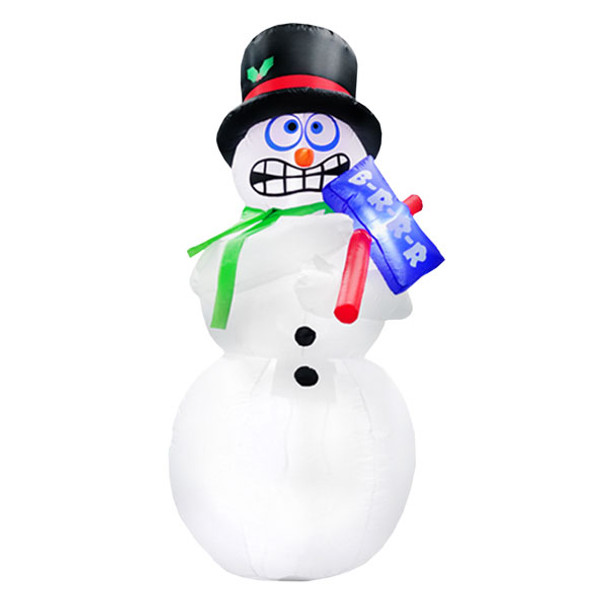 6ft Shivering Motion Snowman Inflatable