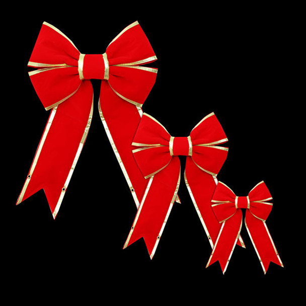Commercial Christmas Bow Combo
