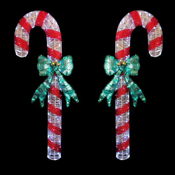 Action Lighting Candy Cane - Left and Right