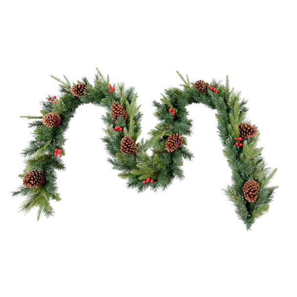 9ft Christmas Garland