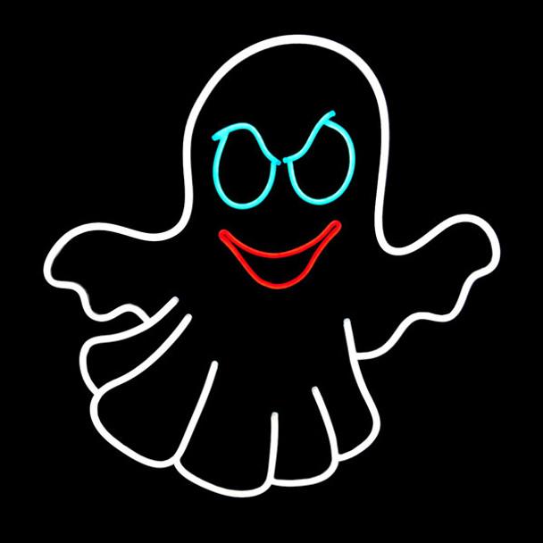 Neon Halloween  Ghost