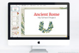 Use this Ancient Rome powerpoint template for your school project!