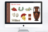 Even more Ancient Greek Clip art in this powerpoint template!