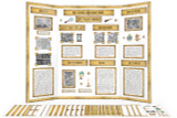 Printable kit for History reports - great for History Fair, National History Month, and other Social Studies report posters.