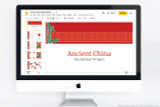 Use this PowerPoint template to make your Ancient China presentation.