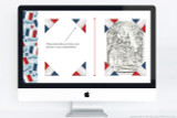 Use this France themed Powerpoint template for your report project.