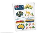 Australia themed clip art.