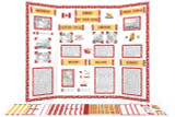 Printable kit for Canada themed display board.