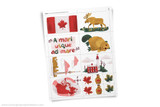 Printable Canada themed clip art!