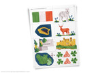 Ireland printable clip art.