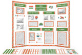 Printable kit for India themed display board.