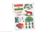 Printable India themed clip art!