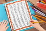 Writing template for India school projects, reports, World Thinking Day projects, Geography Fairs, country reports.