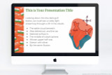 India themed Powerpoint template, also compatible with Google Slides and Apple Keynote.