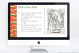 India PowerPoint theme for school reports, includes colorful India themed graphics for your project.