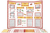 Printable kit for Mexico themed display board.