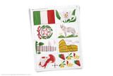 Printable Italy themed clip art!