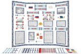 Printable kit for Russia themed display board.