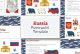 Download this Russia PowerPoint deck template kit for your school report!