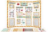 Printable kit for China themed display board.