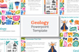 This Geology PowerPoint template has everything you need to make your digital Science Fair report!