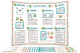 Print the pages in this digital download to easily make a Biology Display just like this one!