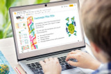 Kids can edit the Biology Powerpoint template using PowerPoint, Apple Keynote, or Google Slides.