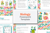 This Biology PowerPoint template has everything you need to make your digital Science Fair report!