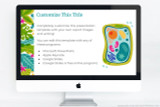 Plant Science themed powerpoint template - fully customizable!