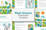 This Plant Science PowerPoint template has everything you need to make your digital Science Fair report!