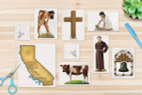 All of this California Missions clip art is included with the kit.