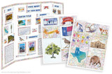 Create your own custom poster for a Texas State school report using this printable kit!