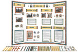 Use this printable kit to create an American Civil War display board like this one. Over 28 pages of templates, clip art and instructions to download and print.