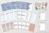 All of these pages are included in the kit. Writing templates, borders, title, captions, and more!