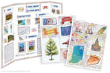 Kit has everything you need to make your Indiana state report poster. Including a map, state flower, moto, nickname, tree and more!