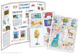 Kit has everything you need to make your New Hampshire state report poster. Including a map, state flower, moto, nickname, tree and more!