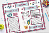 Scotland Project - Display Poster Tutorial